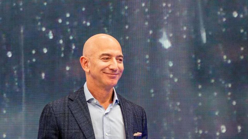 Jeff Bezos, Chef von Amazon. Foto: Andrej Sokolow/dpa