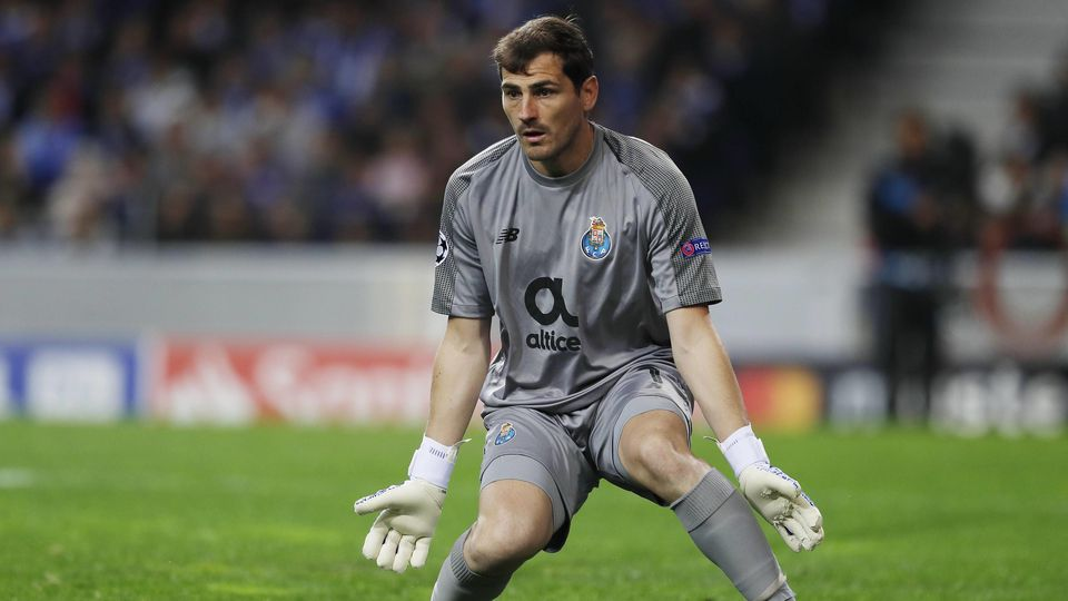 Iker Casillas Porto APRIL 17 2019 Football Soccer UEFA Champions League Quarter finals 2nd