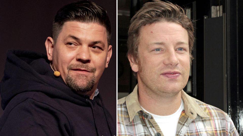"""Tim Mälzer will sich mit Jamie Oliver bei """"Kitchen Impossible"""" duellieren."""
