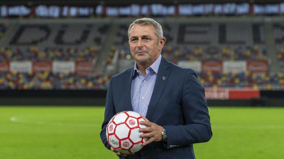 Neues Vorstandsmitglied von Fortuna Düsseldorf: Klaus Allofs. Foto: Marius Becker/dpa