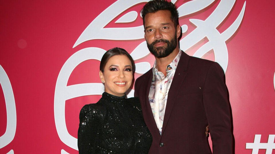 Bezauberndes Duo: Eva Longoria und Ricky Martin