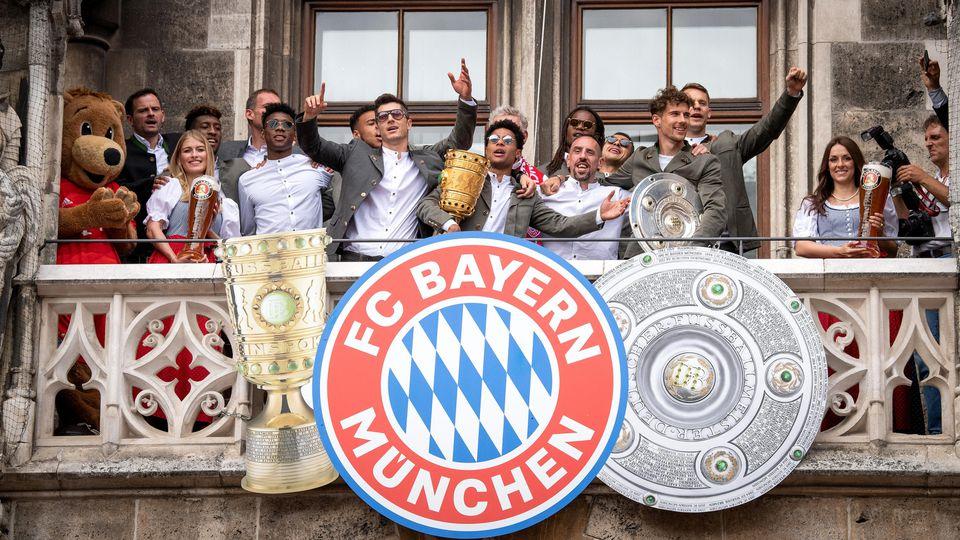 Meisterfeier des FC Bayern München