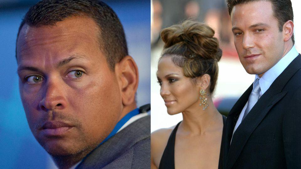 Alex Rodriguez soll geschockt auf Gerüchte um ein Liebescomeback von Jennifer Lopez und Ben Affleck reagiert haben.