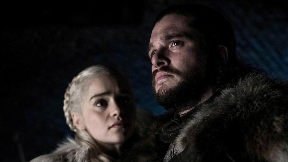 """Emilia Clarke und Kit Harington in """"Game of Thrones"""""""
