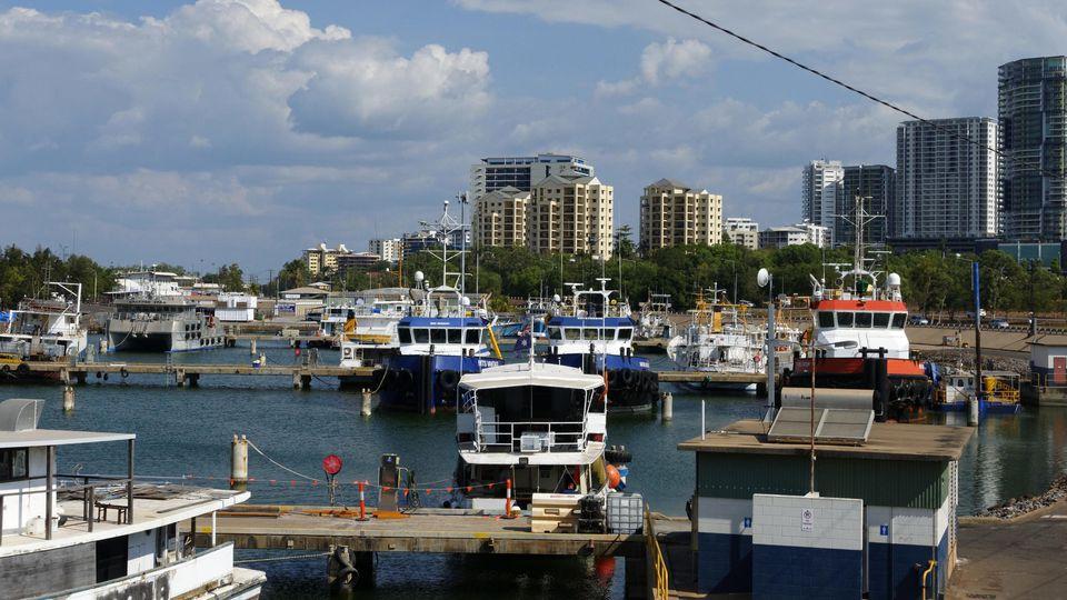 Fischereihafen in Darwin