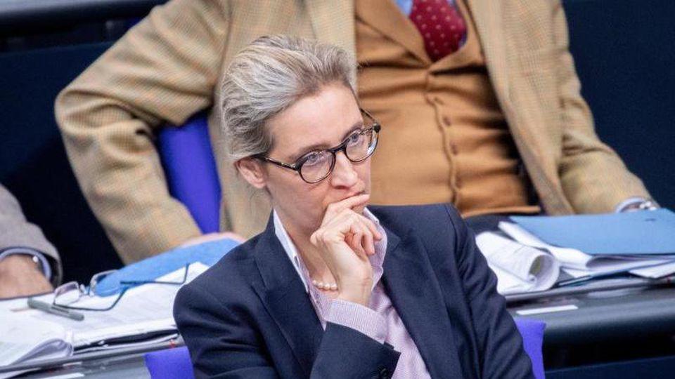 Die Staatsanwaltschaft Konstanz ermittelt gegen die AfD-Fraktionschefin Alice Weidel und drei weitere Mitglieder ihres Kreisverbandes am Bodensee wegen des Verdachts eines Verstoßes gegen das Parteiengesetz. Foto:Kay Nietfeld