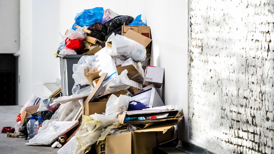 Wir produzieren extrem viel Müll.