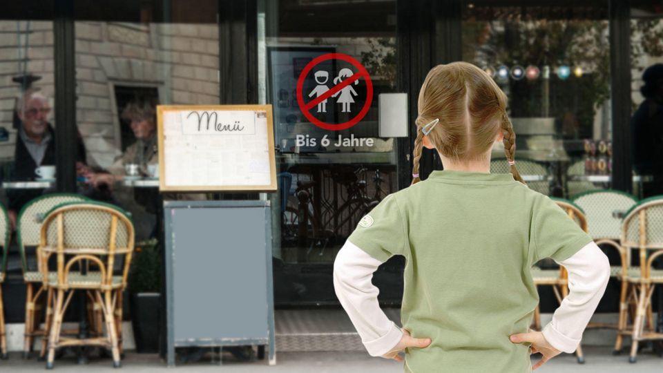 """Im Hamburger Café """"moki's goodies"""" werden Kinder erst ab 6 Jahren bedient."""