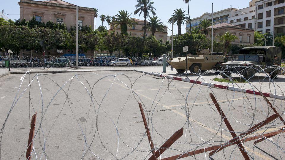 Französische Botschaft in Tunis ARCHIVBILD