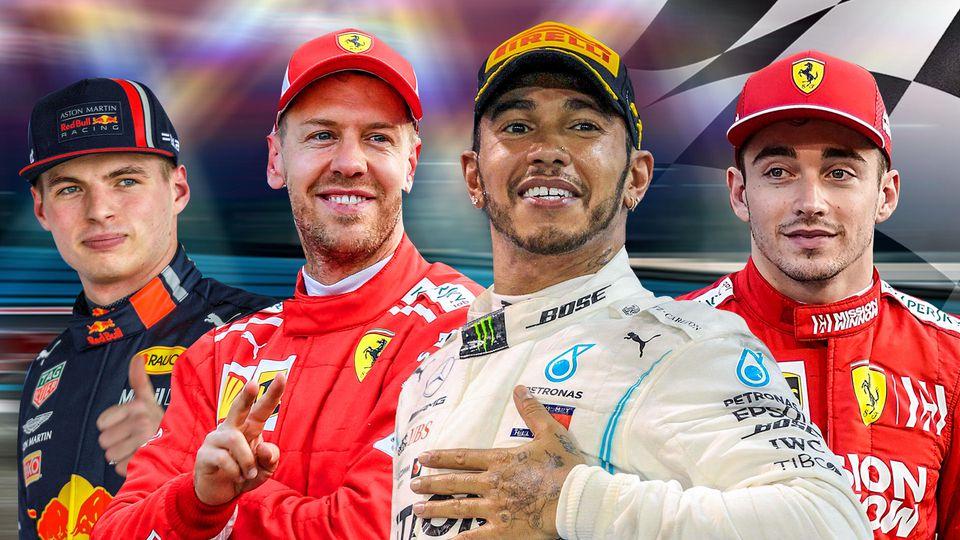 Die Formel-1-Stars 2019 bekommen von uns ein Zeugnis