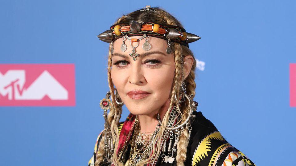 Mag Angela Merkel, hasst Donald Trump: Popstar Madonna