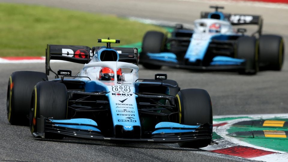 MONZA, ITALY - SEPTEMBER 08: Robert Kubica of Poland driving the (88) Rokit Williams Racing FW42 Mercedes on track during the F1 Grand Prix of Italy at Autodromo di Monza on September 08, 2019 in Monza, Italy. (Photo by Charles Coates/Getty Images)