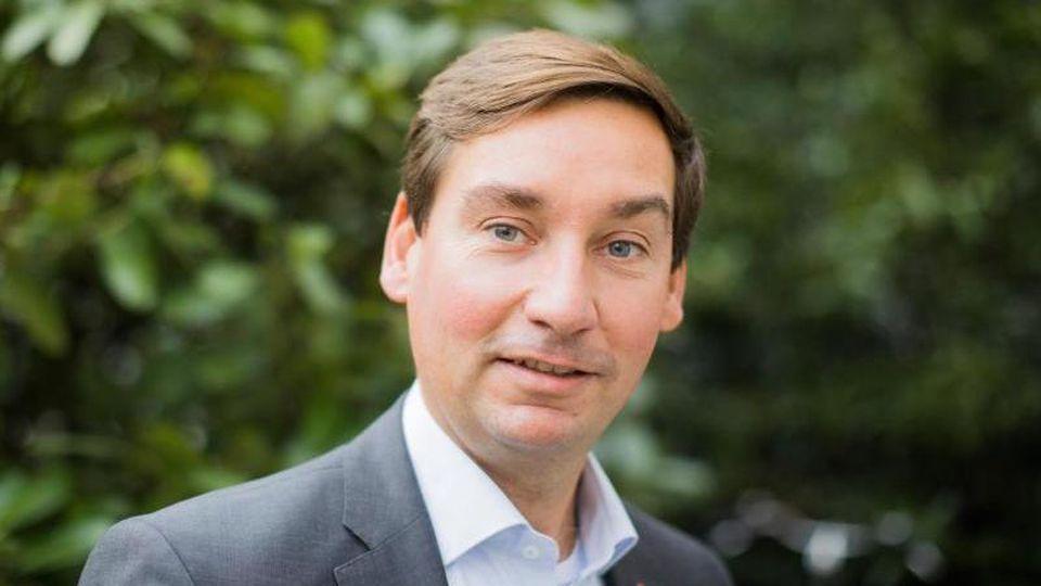 Parteichef Sebastian Hartmann. Foto: Rolf Vennenbernd/Archivbild