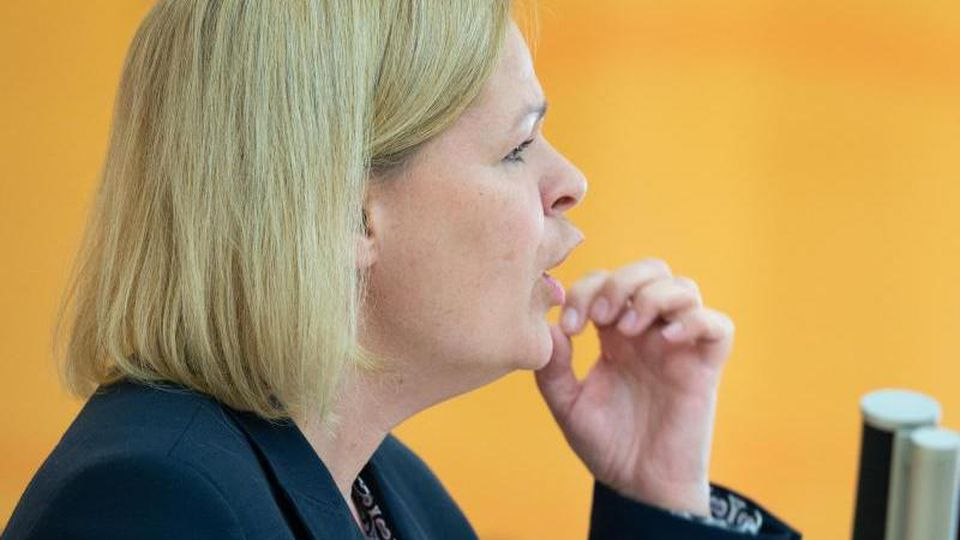 Nancy Faeser, SPD-Fraktionsvorsitzende im hessischen Landtag. Foto: Sebastian Kramer/dpa/Archivbild