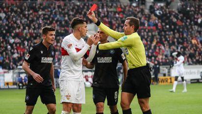 Rote Karte Vfb Stuttgart Fur Drei Spiele Ohne Kempf