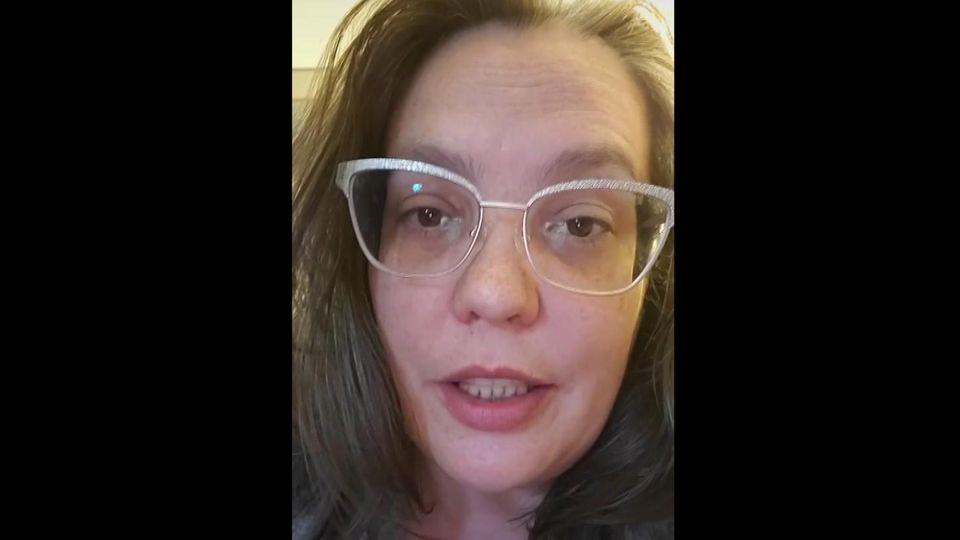 Auf TikTok erzählt Shawnette Davis ihre bewegende Lebensgeschichte.