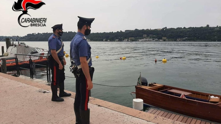 Holzboot-Unfall Gardasee