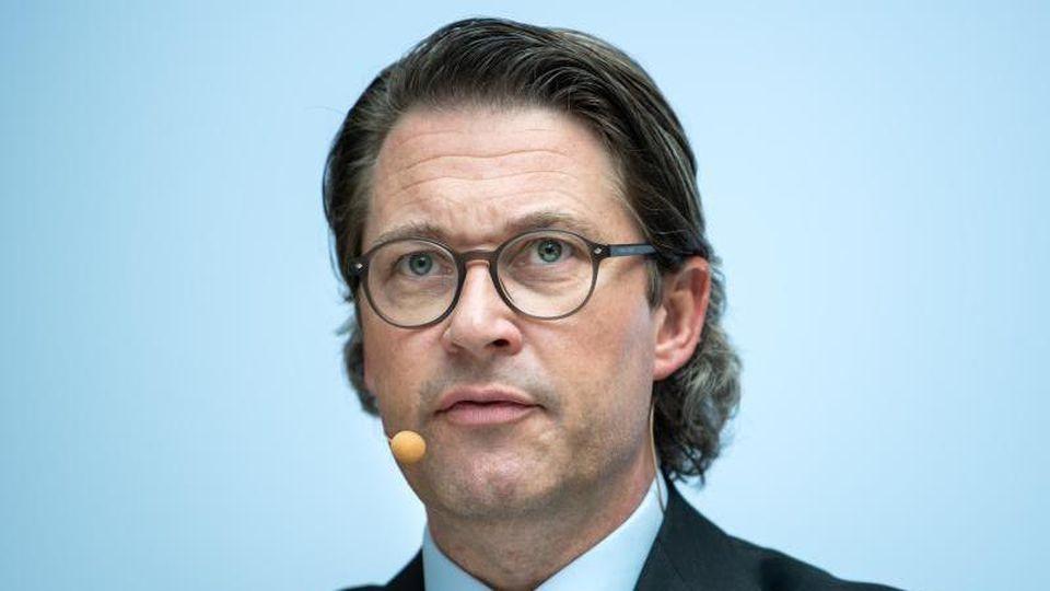 Bundesverkehrsminister Andreas Scheuer (CSU). Foto: Bernd von Jutrczenka/dpa/Archivbild