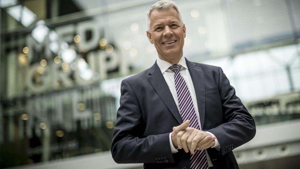 """""""RTL Aktuell""""-Moderator Peter Kloeppel."""