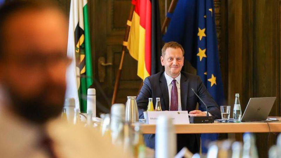 Michael Kretschmer (CDU), Ministerpräsident von Sachsen. Foto: Jan Woitas/dpa-Zentralbild/dpa