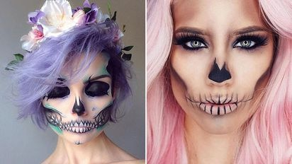 Halloween Make Up Es Wird Ganz Schon Gruselig