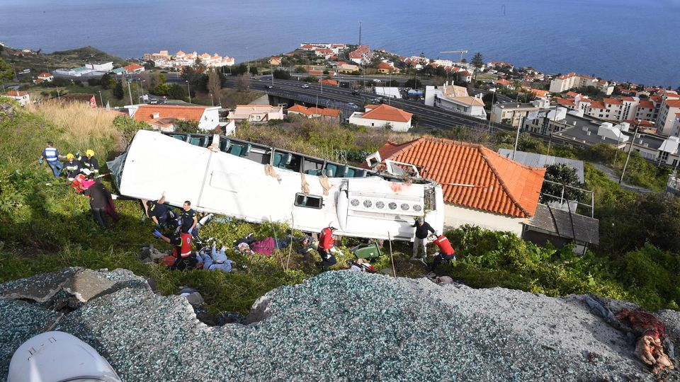Bus accident in Madeira makes 28 dead Funchal 04 17 2019 Accident with bus in Madeira makes 28 d