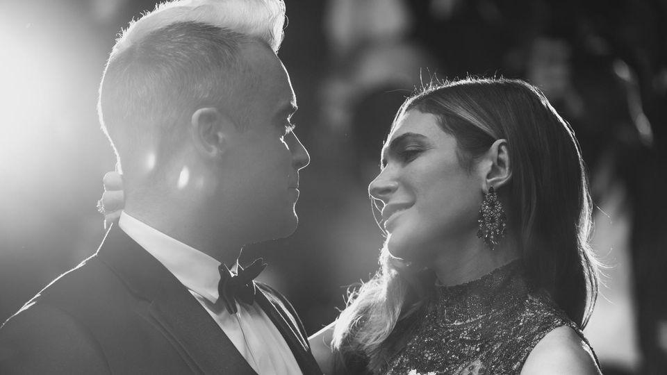 Robbie Williams und Ayda Field - verliebt wie eh und je