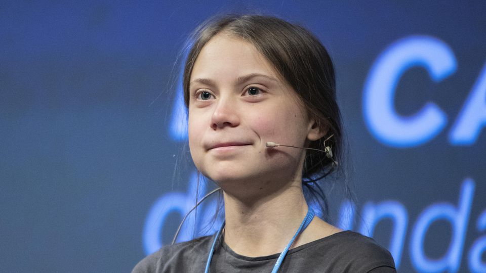 MADRID, SPAIN - DECEMBER 06: Swedish environment activist Greta Thunberg attends the press conference in Madrid because