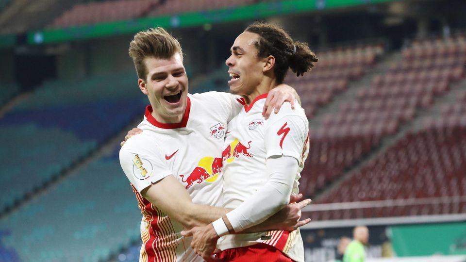 Matchwinner weil Torschütze: Yussuf Poulsen.
