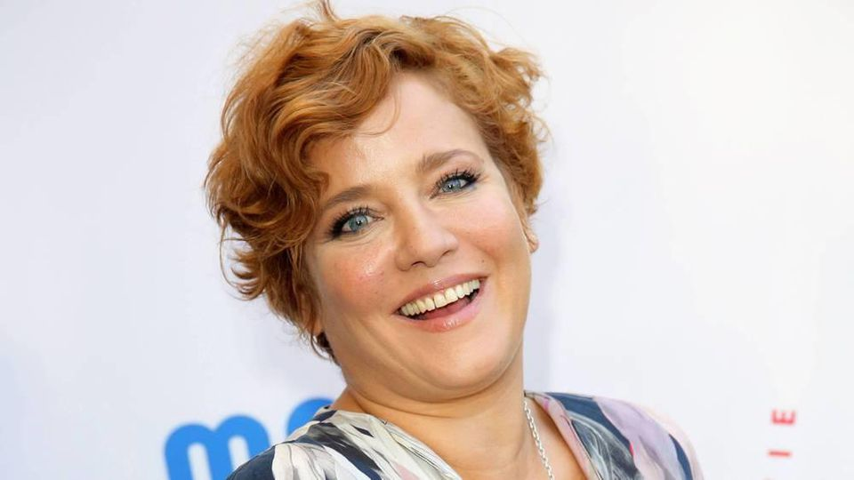 Kann wieder lachen: Muriel Baumeister hat dem Alkohol abgeschworen