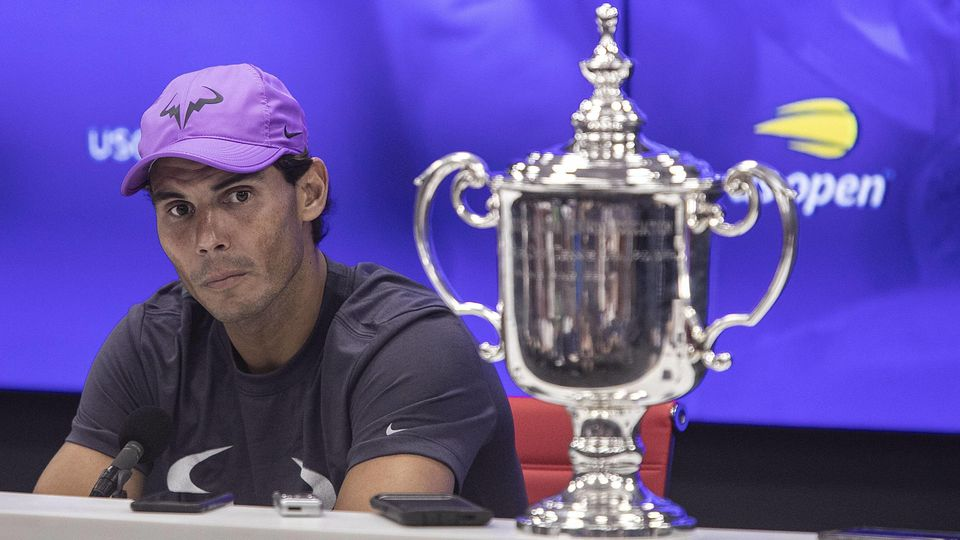 September 8, 2019, Flushing Meadows, New York, United States of America: Rafael Nadal attends a press conference, PK, P