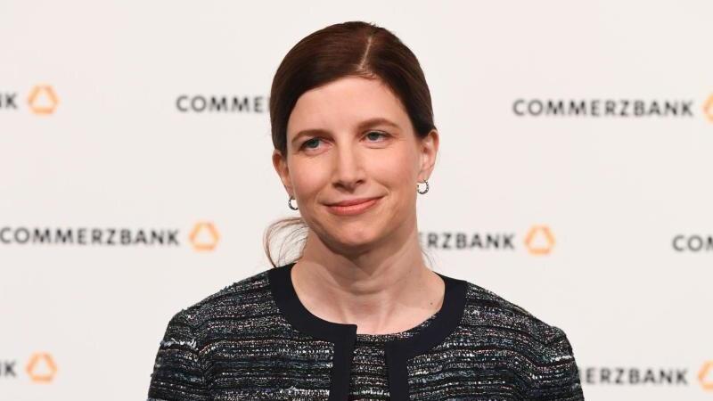 Bettina Orlopp, künftige stellvertretende Vorstandsvorsitzende der Commerzbank AG. Foto: picture alliance / dpa/Archivbild