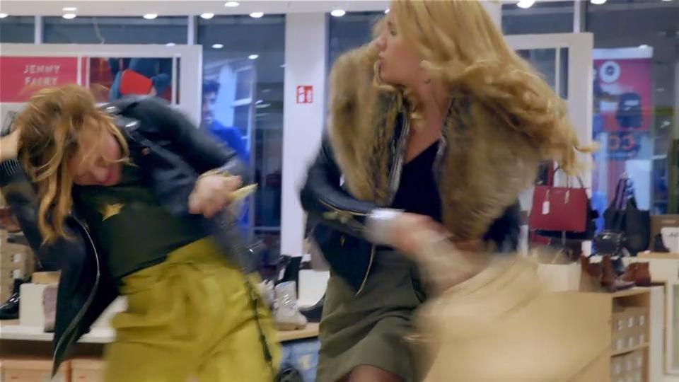 Danni und Britta sind völlig verrückt geworden