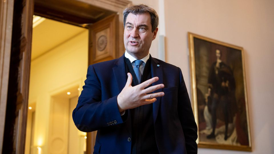 Markus Söder hat verkündet, dass die Ausgangsbeschränkungen in Bayern verlängert werden.