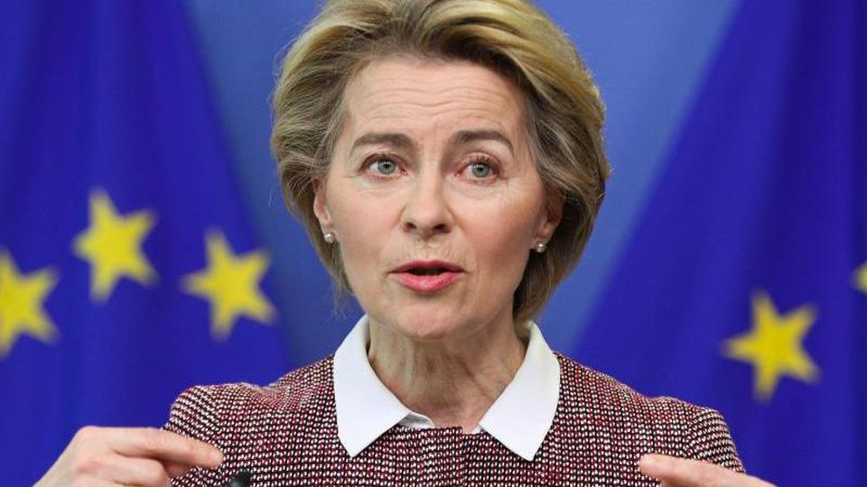 Ursula von der Leyen, Präsidentin der Europäischen Kommission. Foto: Zheng Huansong/XinHua/dpa/Archivbild