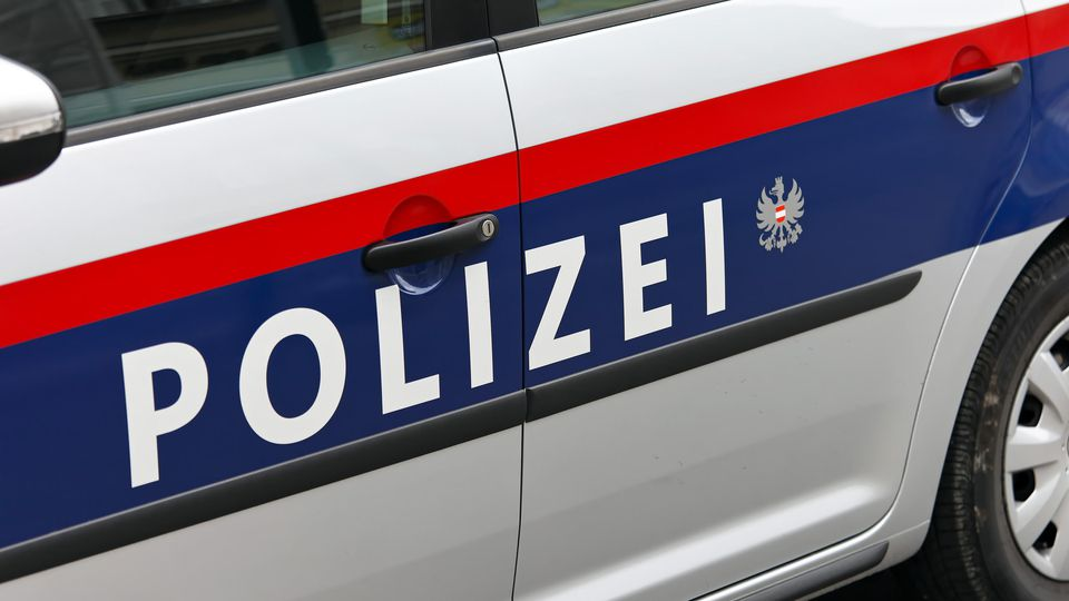 Österreichischer Polizeiwagen