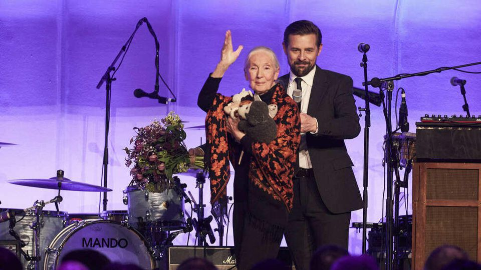Best Brands Awards 2020: Keynotespeakerin Dr. Jane Goodall und Moderator Klaas Heufer-Umlauf