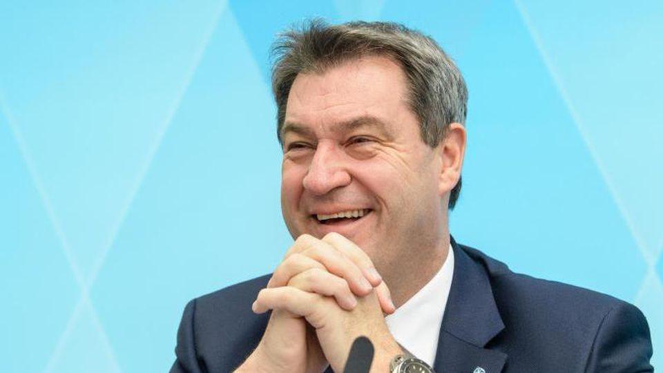 Bayerns Ministerpräsident Markus Söder. Foto: Matthias Balk