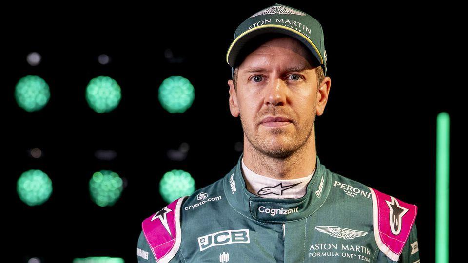 Sebastian Vettel fährt seit 2021 für Aston Martin in British Racing Green