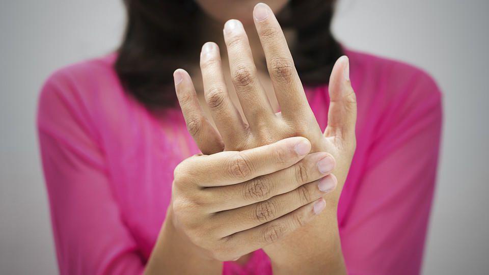 Knubbel finger Dupuytren Behandlung