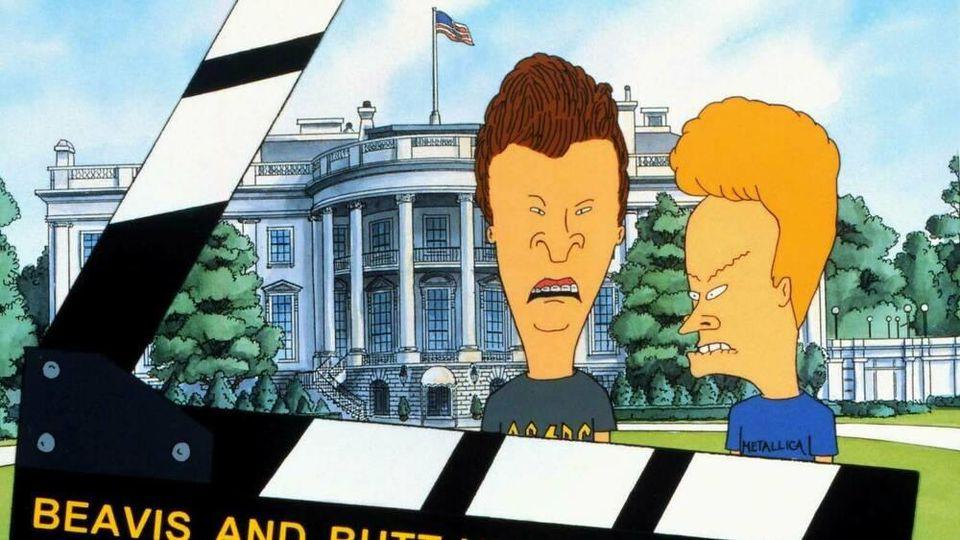 """Film zur Serie: """"Beavis und Butt-Head machen's in Amerika"""" (1996)"""