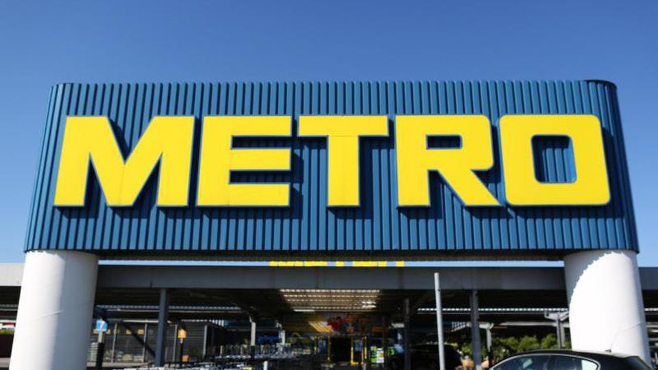 Eine Metro-Filiale. Foto: Ina Fassbender/Archivbild
