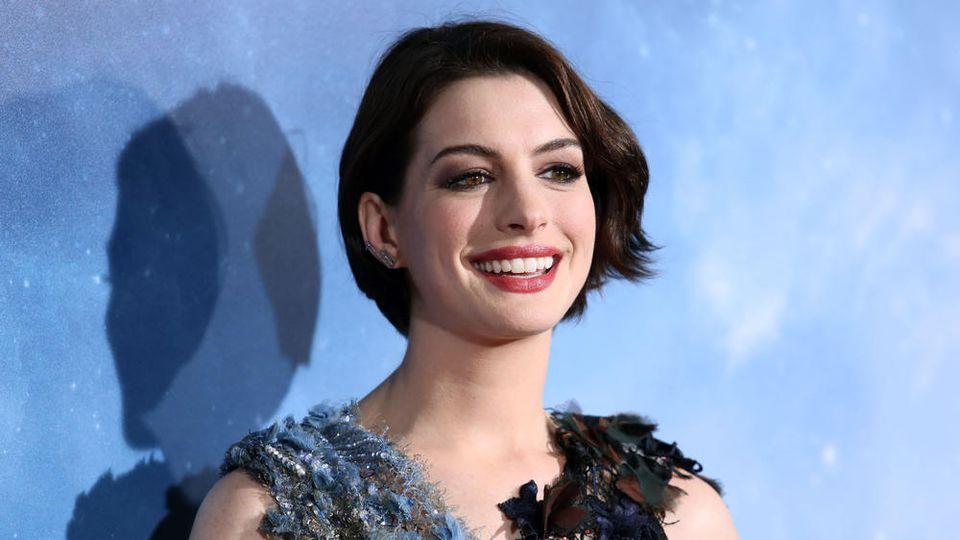 Anne Hathaway hat dem Alkohol abgeschworen