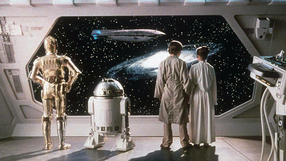 """23 Jahre später: """"Das Imperium schlägt zurück"""" holt sich Platz eins an den US-Kinokassen."""