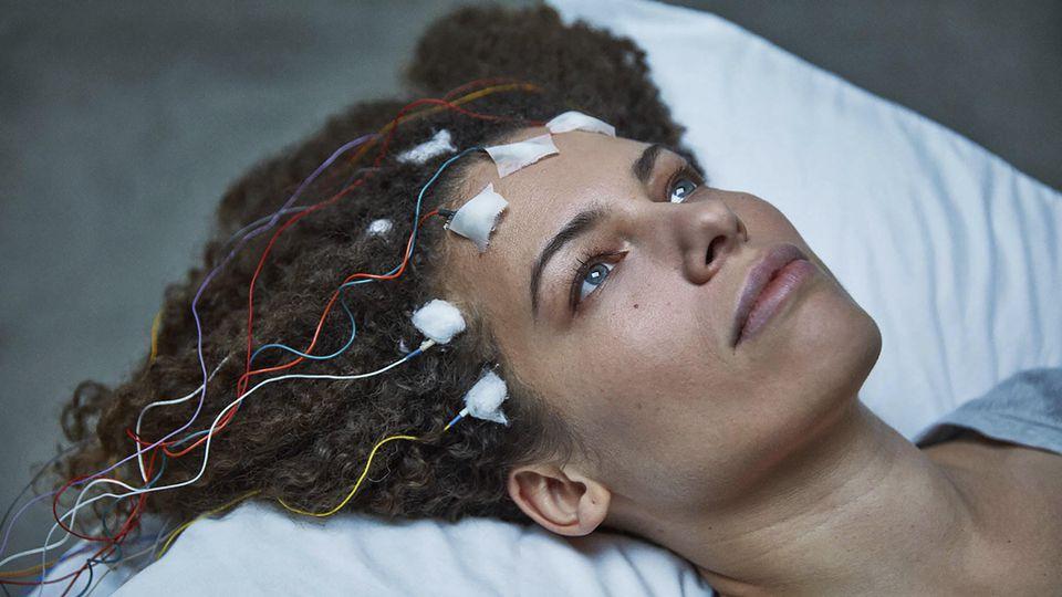Filmszene aus 'Unrest' mit Jennifer Brea