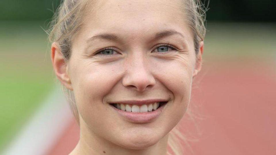 Die Leichtathletik-Sprinterin Gina Lückenkemper. Foto: Swen Pförtner/dpa/Archivbild
