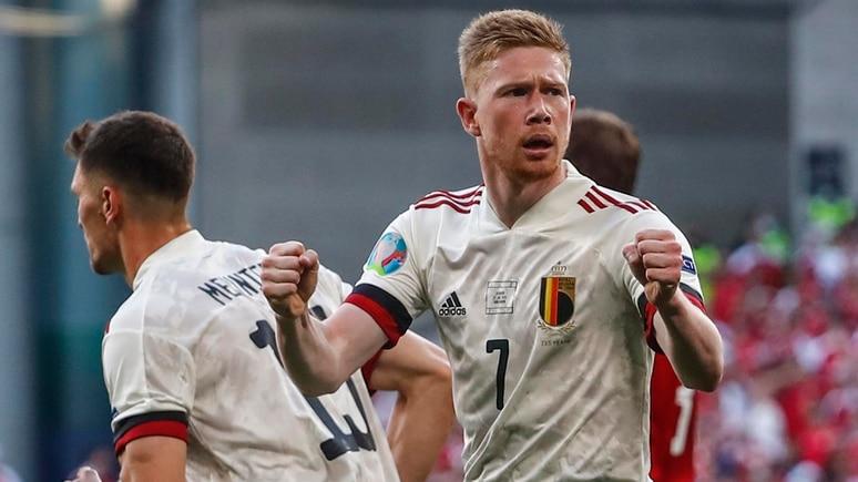 Kevin De Bruyne war gegen Dänemark der Mann des Spiels.