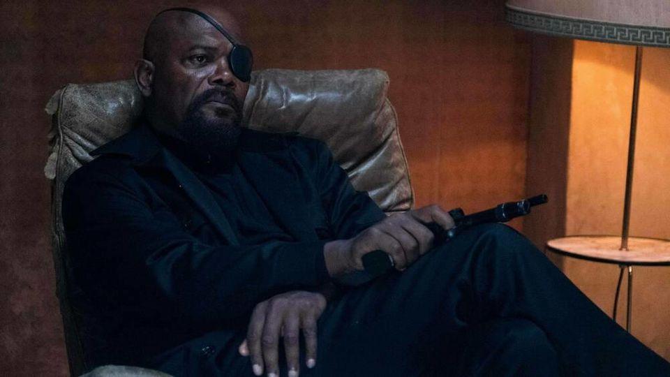 Samuel L. Jackson in seinem Marvel-Charakter Nick Fury.