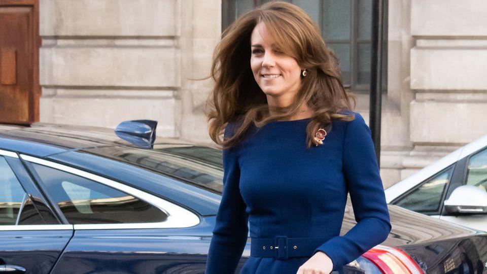 Herzogin Kate ist immer stilsicher unterwegs