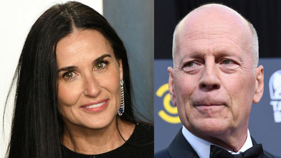 Demi Moore und Bruce Willis zählten einst zu Hollywoods Traumpaaren.